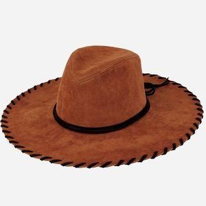 c380e3b46 San Diego Hat Company Accessories - San Diego Hat Company Faux Suede Whip  Stitch Brim